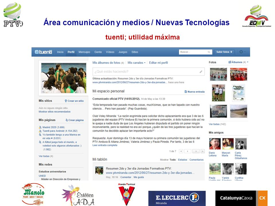 Área comunicación y medios / Nuevas Tecnologías