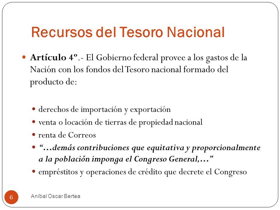 Recursos del Tesoro Nacional