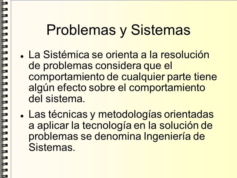 Problemas y Sistemas