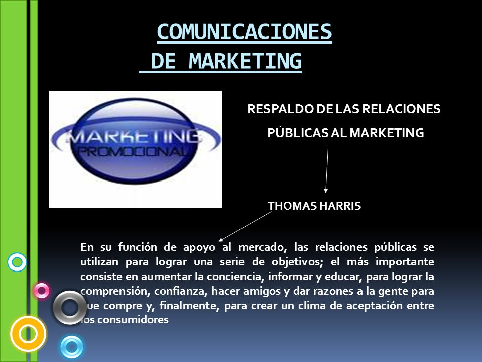 COMUNICACIONES DE MARKETING