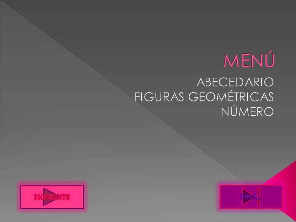ABECEDARIO FIGURAS GEOMÉTRICAS NÚMERO