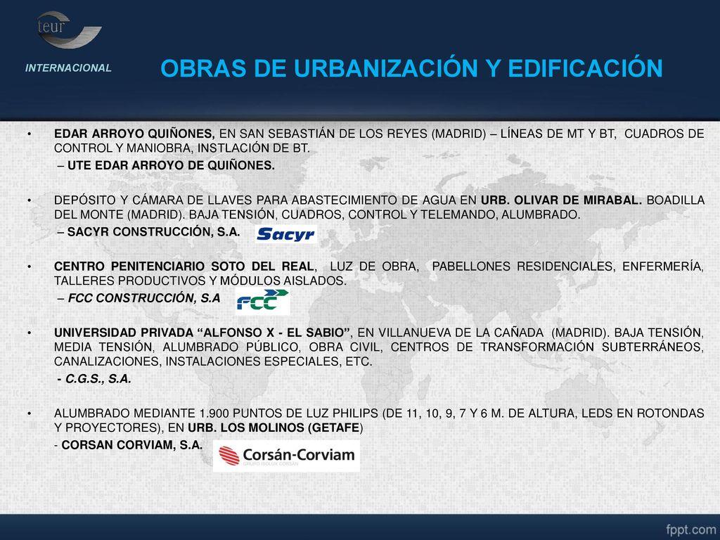 Dossier internacional ppt descargar - Obra nueva en villanueva de la canada ...