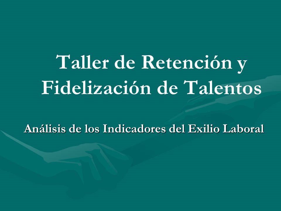 Taller de Retención y Fidelización de Talentos