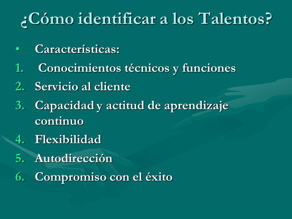 ¿Cómo identificar a los Talentos