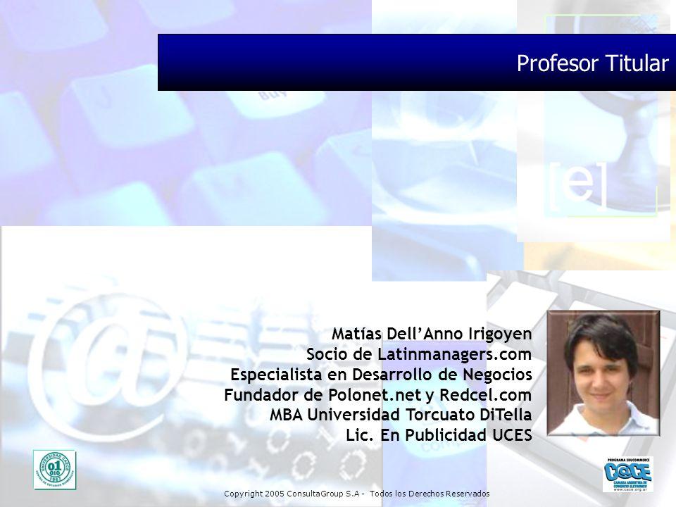 Profesor Titular Matías Dell'Anno Irigoyen Socio de Latinmanagers.com