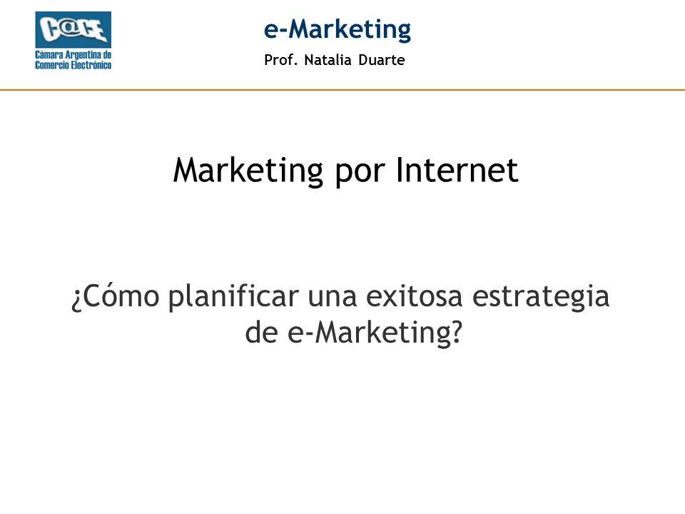 ¿Cómo planificar una exitosa estrategia de e-Marketing