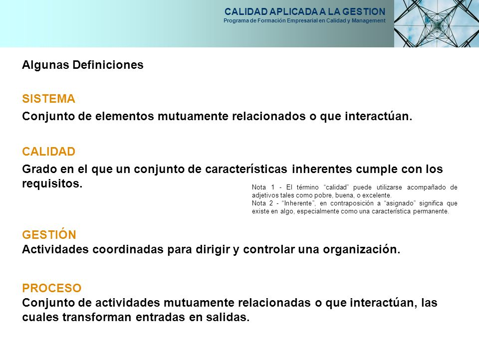 Conjunto de elementos mutuamente relacionados o que interactúan.