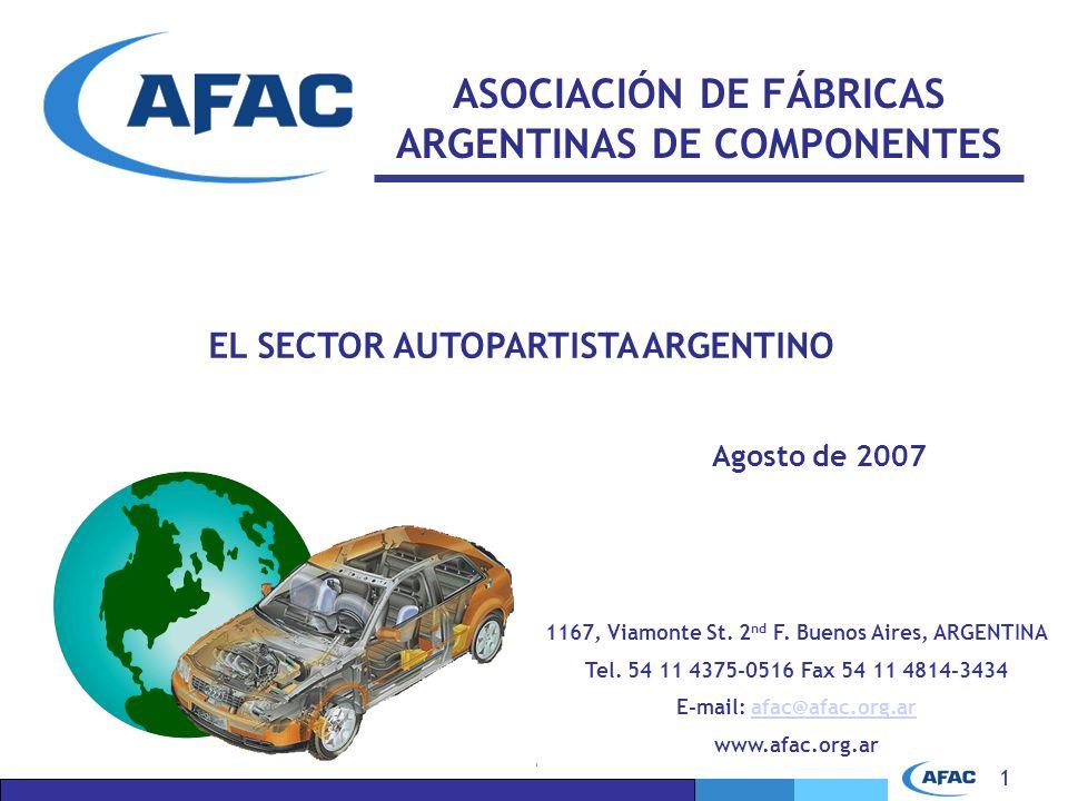 ASOCIACIÓN DE FÁBRICAS ARGENTINAS DE COMPONENTES