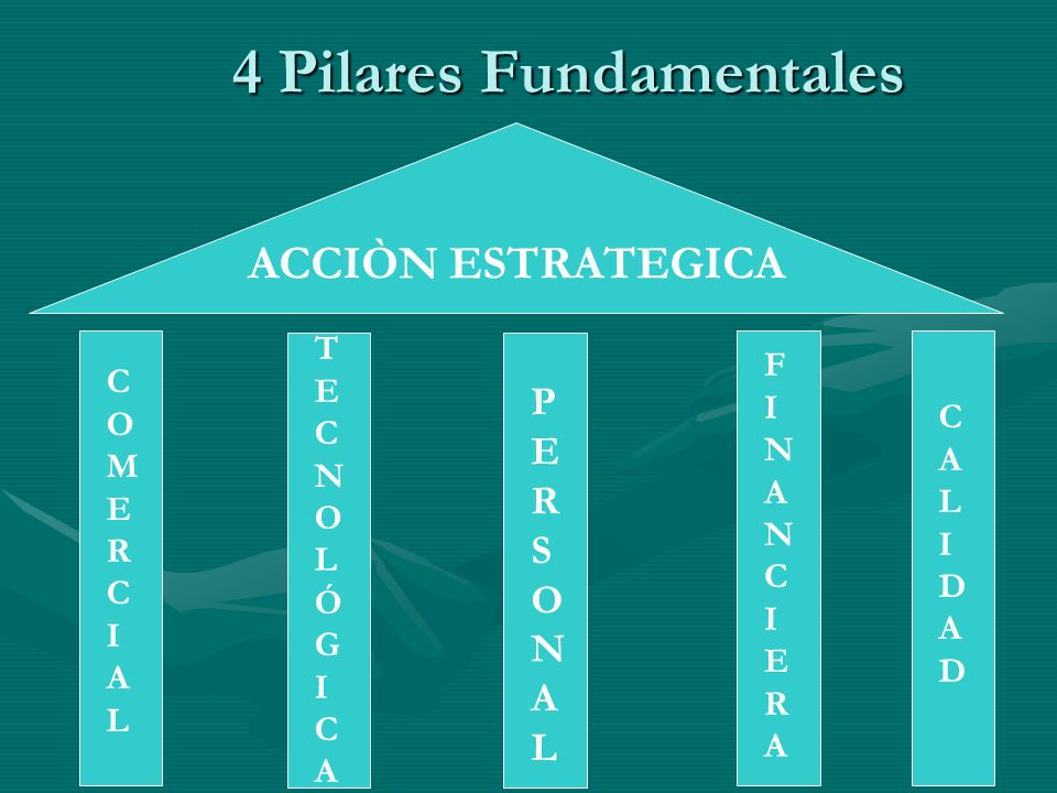 4 Pilares Fundamentales