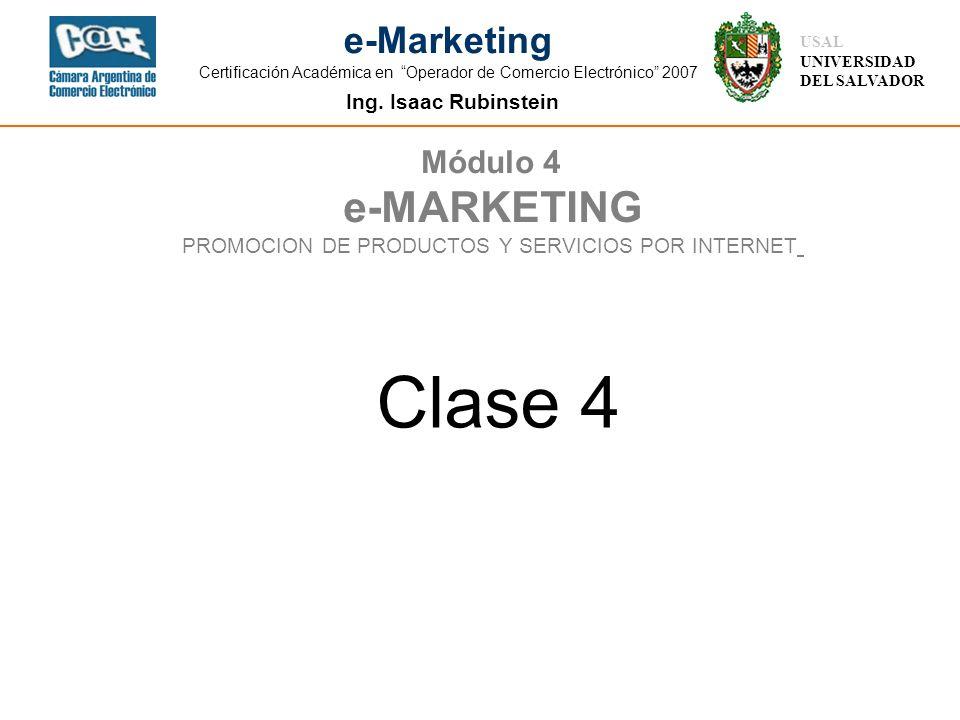 PROMOCION DE PRODUCTOS Y SERVICIOS POR INTERNET