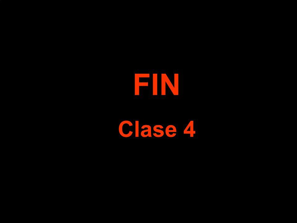 FIN Clase 4