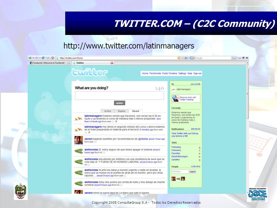 TWITTER.COM – (C2C Community)