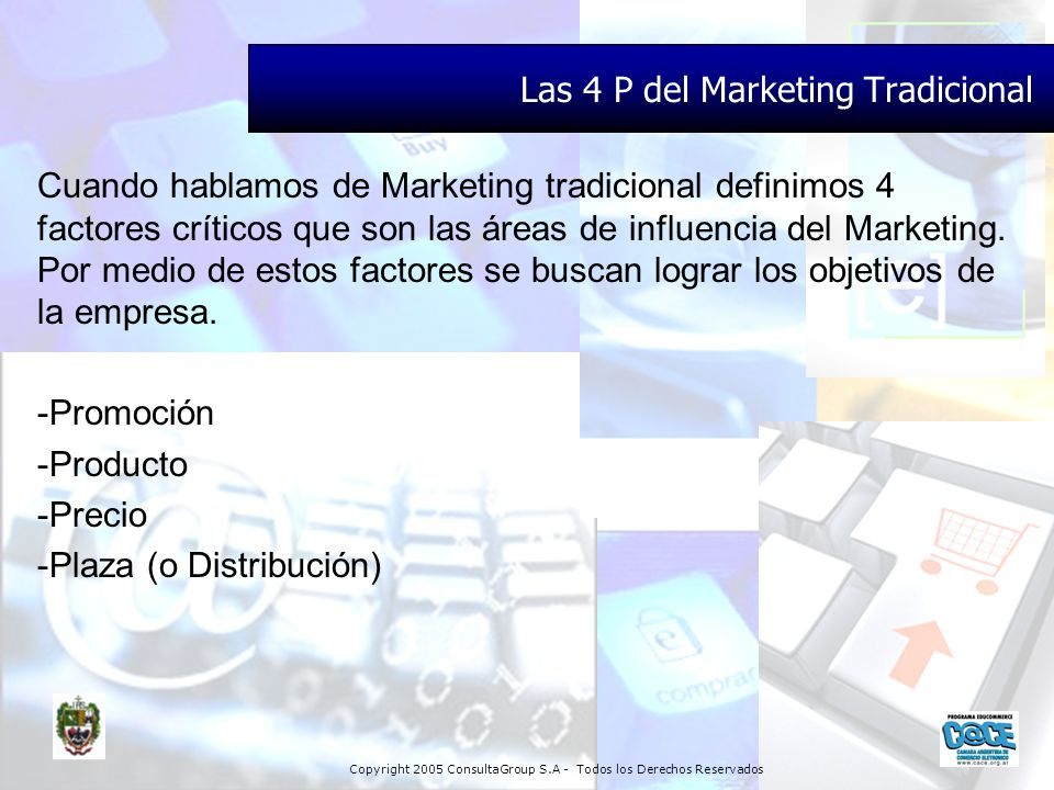 Las 4 P del Marketing Tradicional