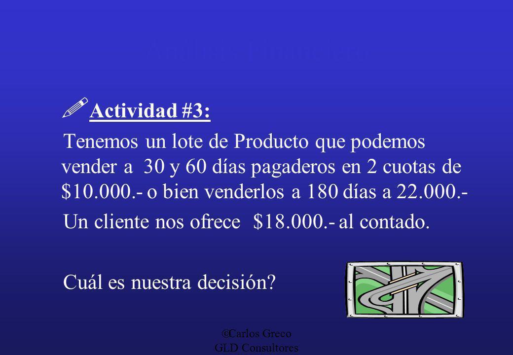 Análisis Financiero Actividad #3: