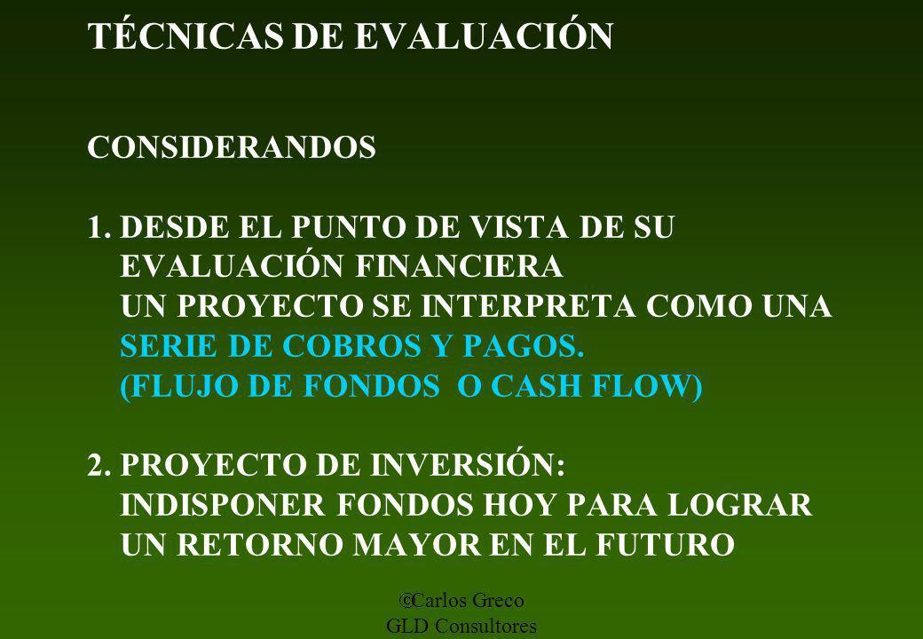 TÉCNICAS DE EVALUACIÓN CONSIDERANDOS 1