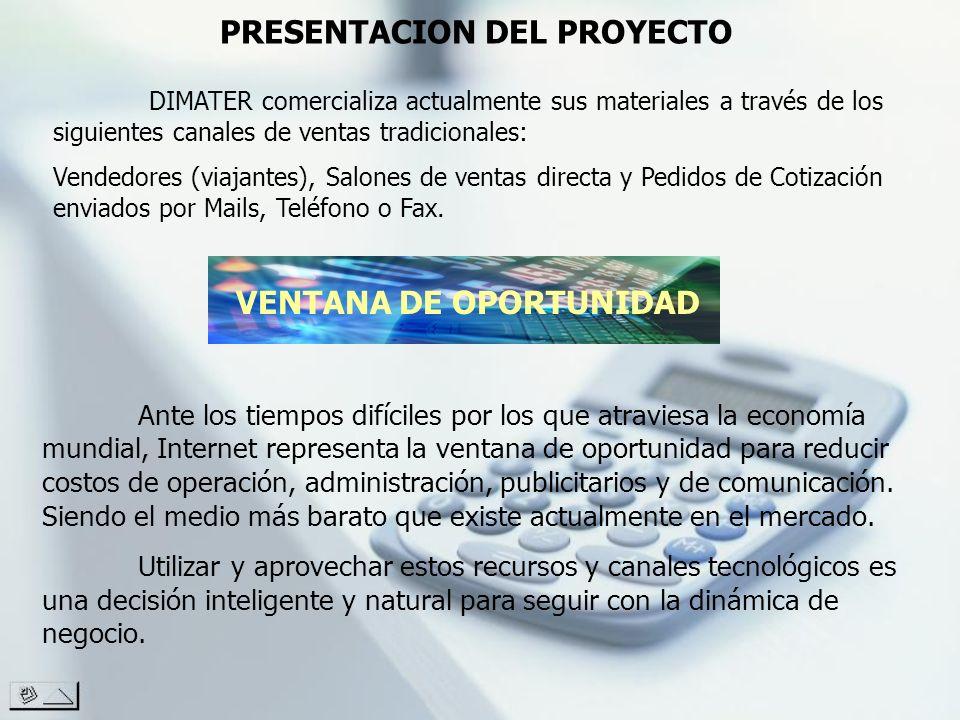 PRESENTACION DEL PROYECTO VENTANA DE OPORTUNIDAD