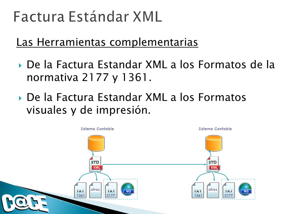 Factura Estándar XML Las Herramientas complementarias