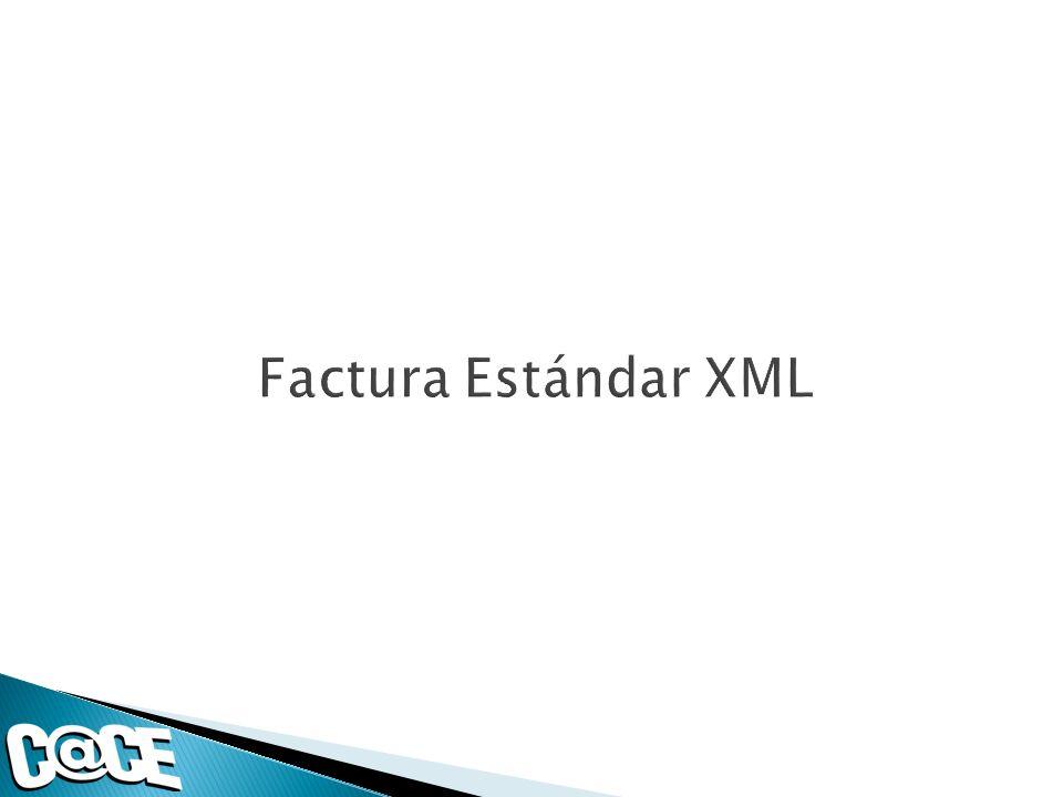 Factura Estándar XML