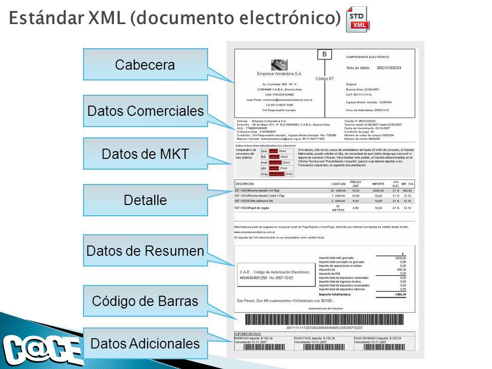 Estándar XML (documento electrónico)