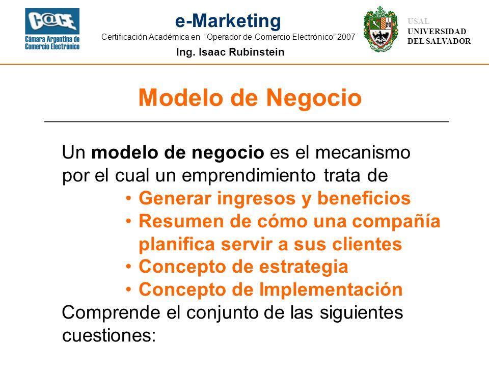 Modelo de Negocio Un modelo de negocio es el mecanismo por el cual un emprendimiento trata de. Generar ingresos y beneficios.
