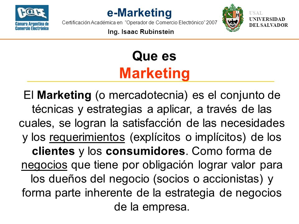 Que es Marketing.