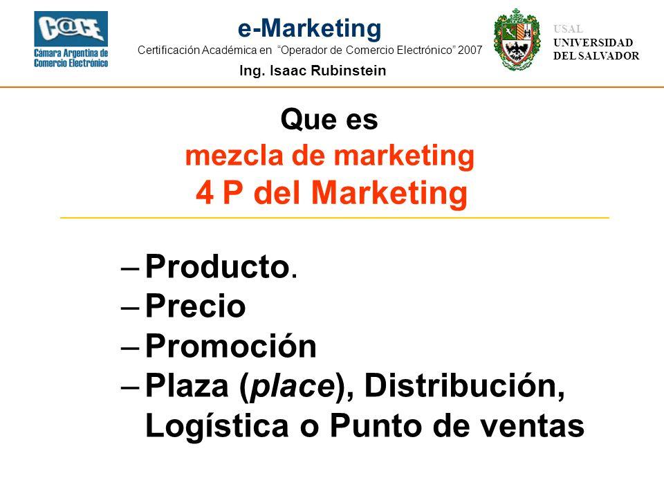 Plaza (place), Distribución, Logística o Punto de ventas