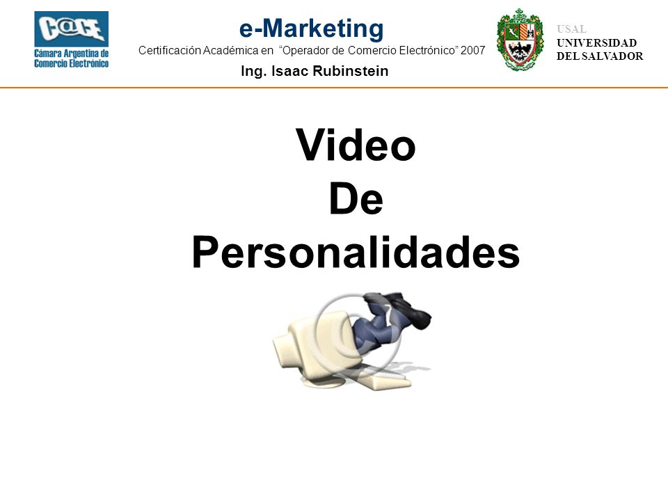 Video De Personalidades