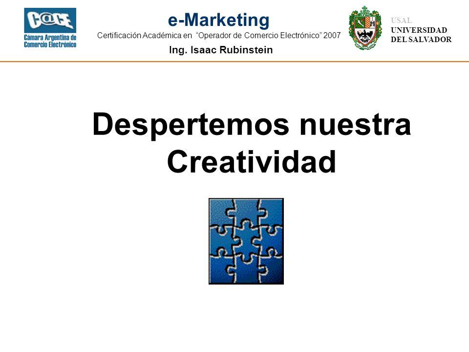 Despertemos nuestra Creatividad