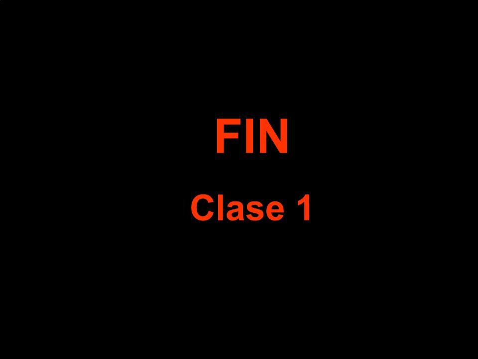 FIN Clase 1