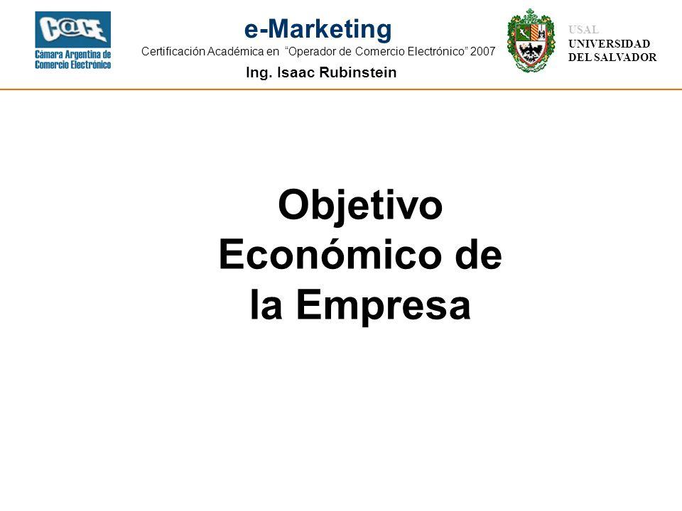 Objetivo Económico de la Empresa