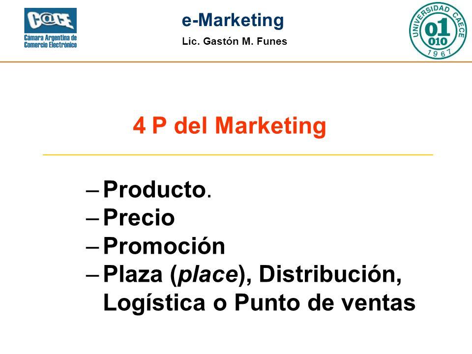 4 P del Marketing Producto. Precio. Promoción.