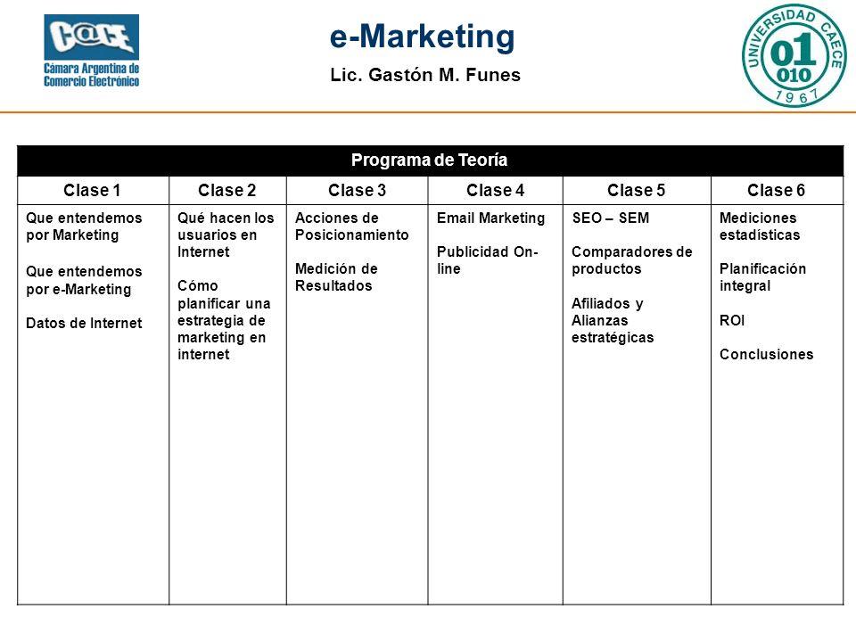 Agenda Programa de Teoría Clase 1 Clase 2 Clase 3 Clase 4 Clase 5