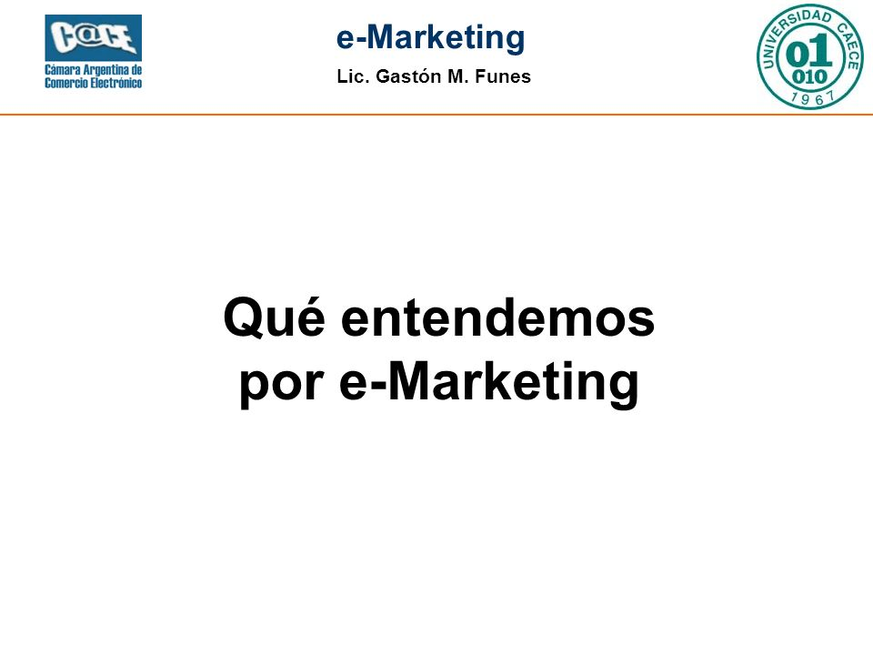Qué entendemos por e-Marketing