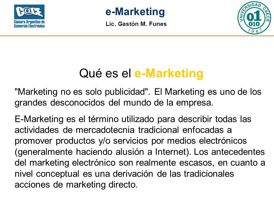 Qué es el e-Marketing Marketing no es solo publicidad . El Marketing es uno de los grandes desconocidos del mundo de la empresa.