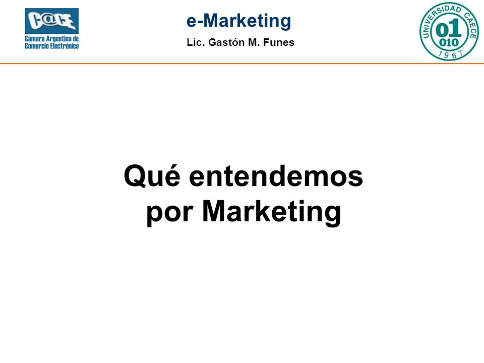 Qué entendemos por Marketing