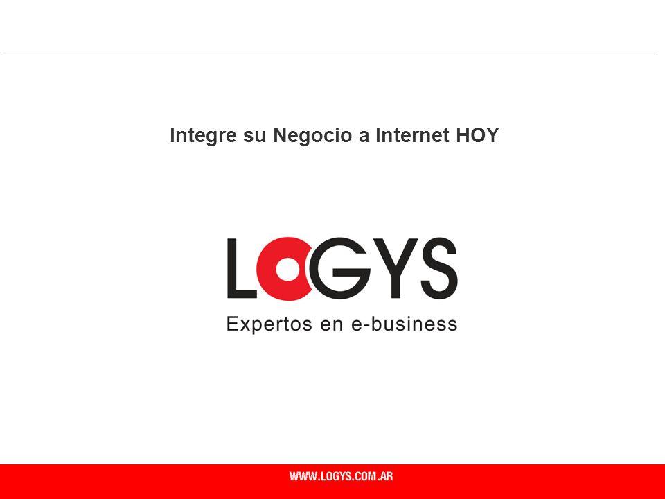 Integre su Negocio a Internet HOY