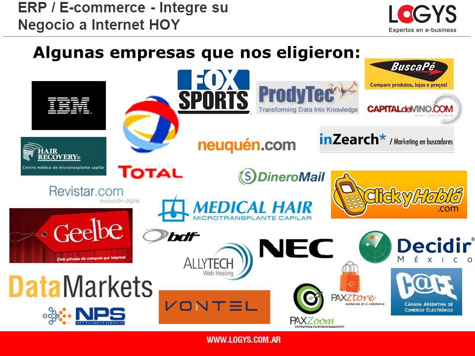 Algunas empresas que nos eligieron: