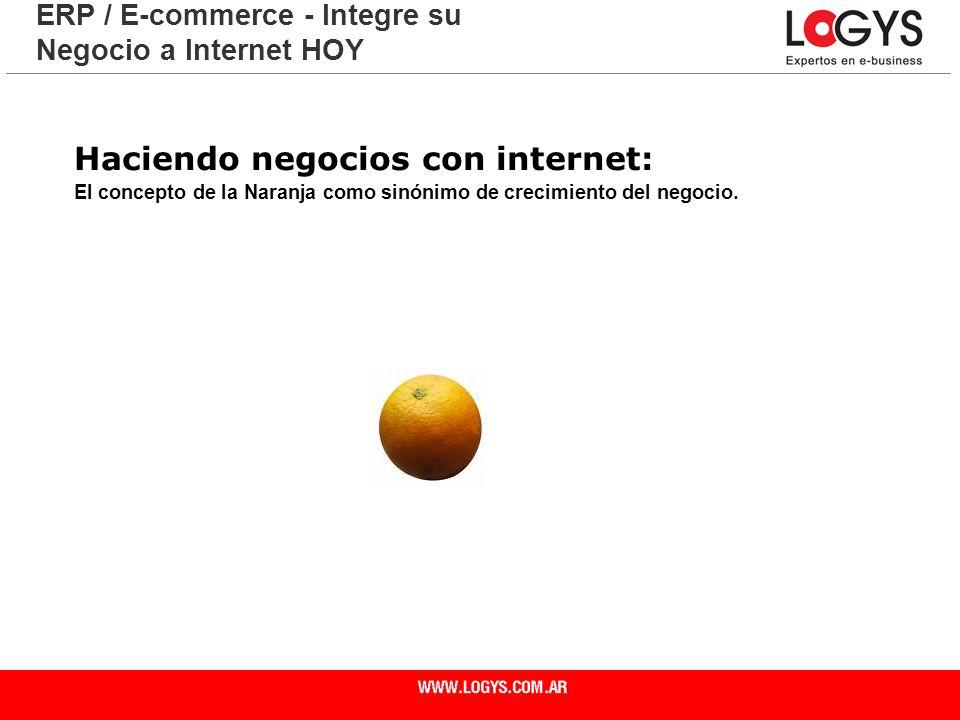 Haciendo negocios con internet: