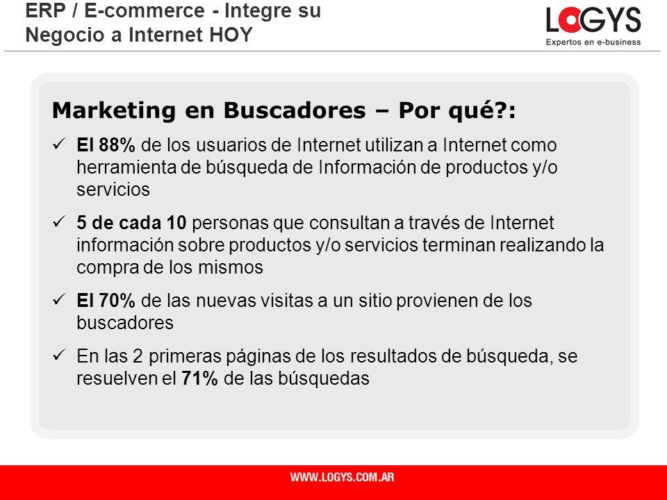 ERP / E-commerce - Integre su Negocio a Internet HOY