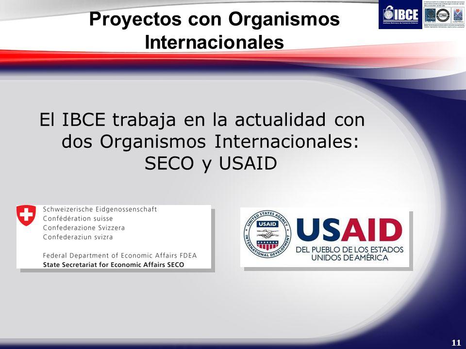 Proyectos con Organismos Internacionales