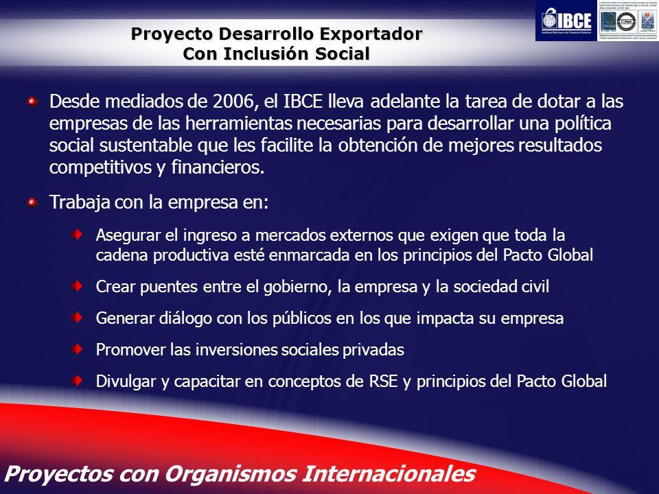 Proyecto Desarrollo Exportador