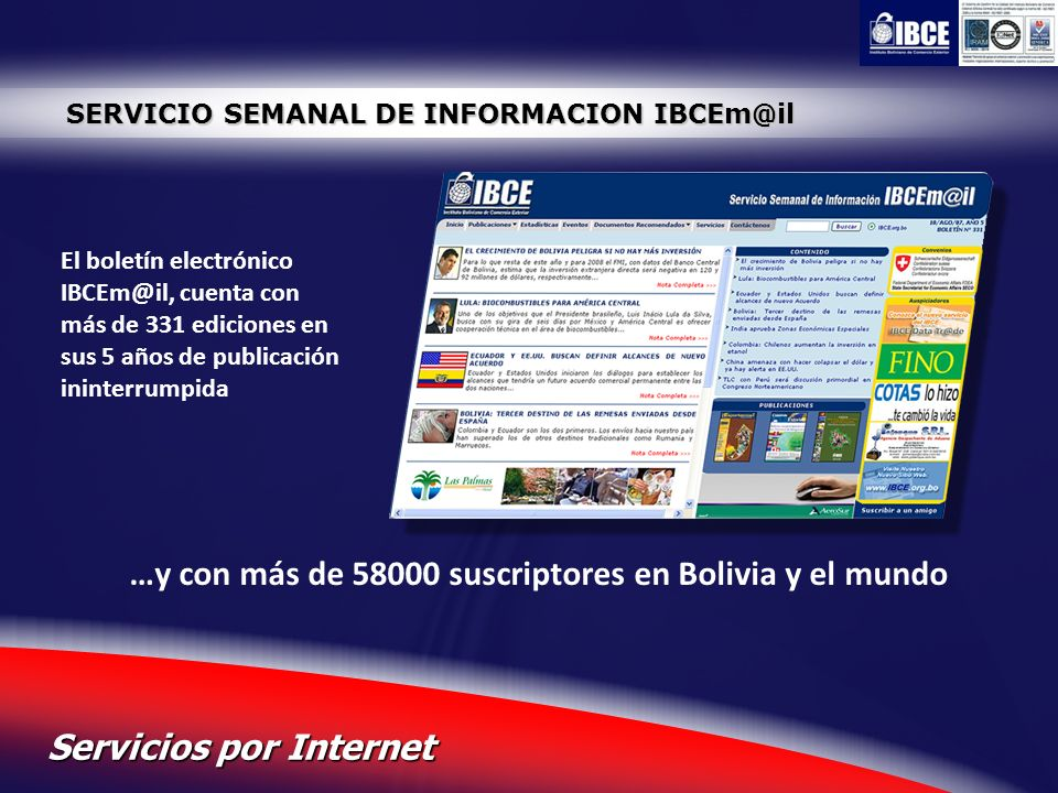 …y con más de 58000 suscriptores en Bolivia y el mundo