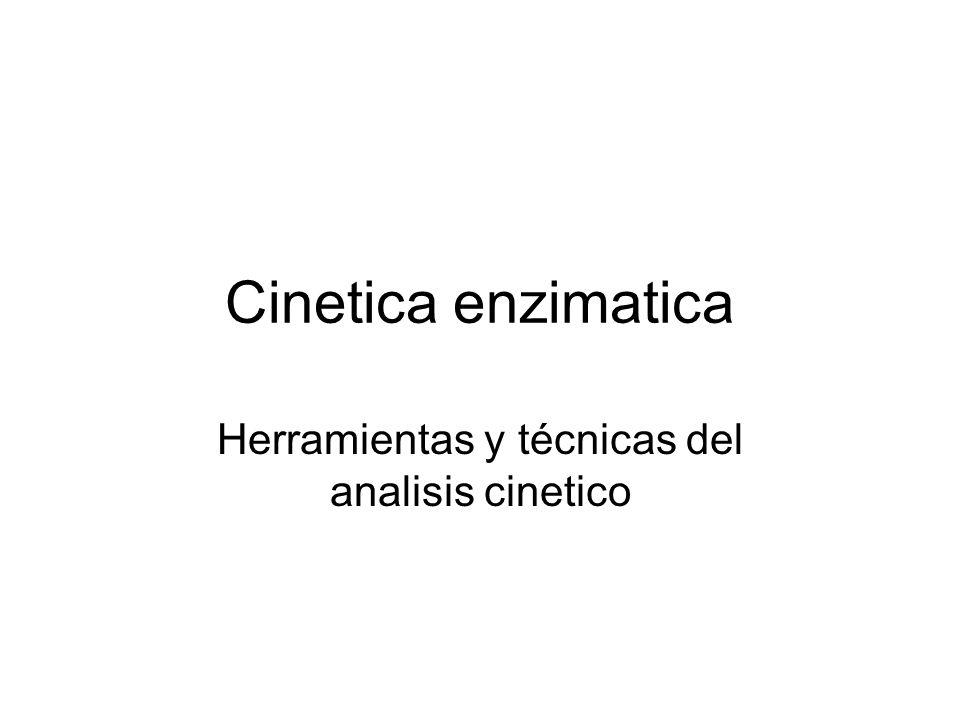 Herramientas y técnicas del analisis cinetico