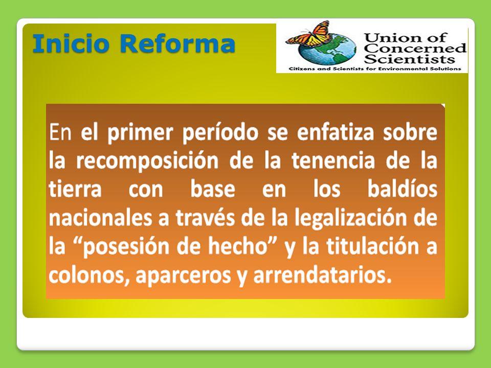 Inicio Reforma