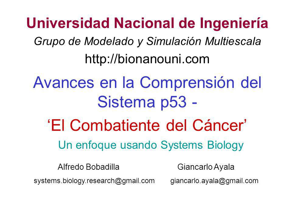 Un enfoque usando Systems Biology