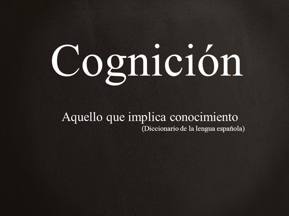 Aquello que implica conocimiento (Diccionario de la lengua española)