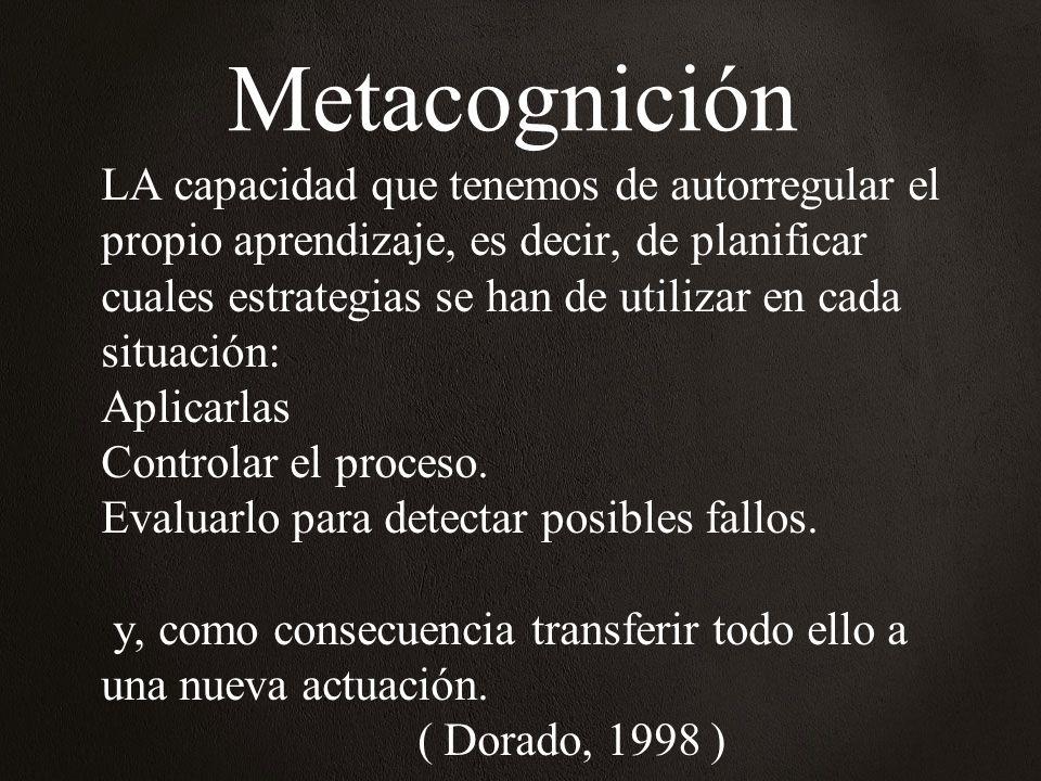 Metacognición