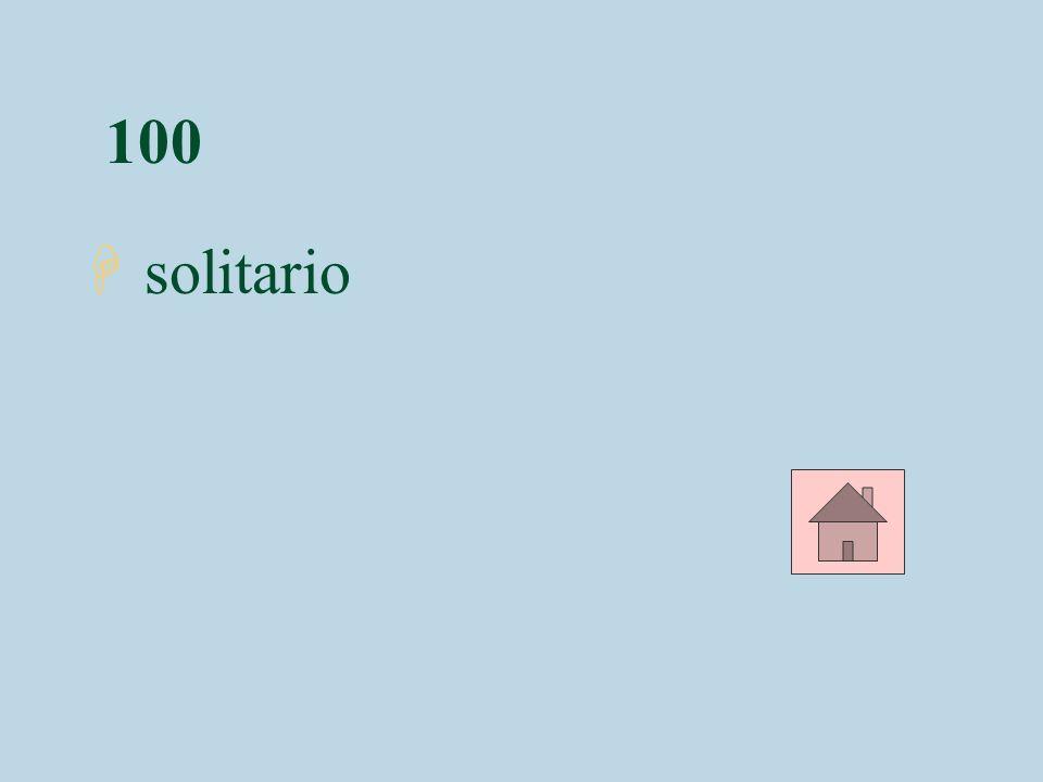 100 solitario