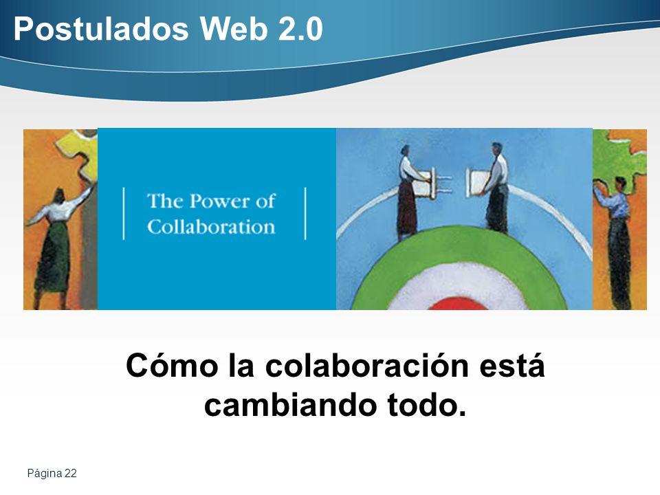 Cómo la colaboración está cambiando todo.