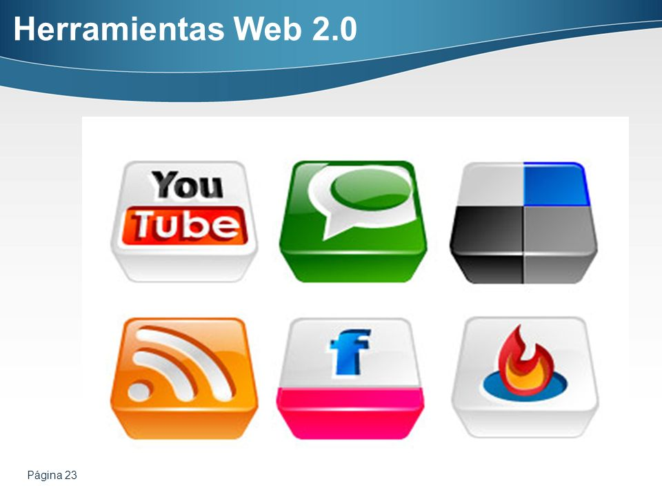 Herramientas Web 2.0 Página 23